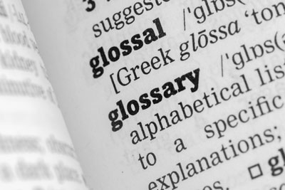 Glossary of Industry Terms and Acronyms